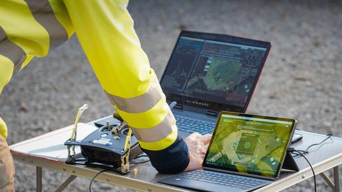 Use Case van methaan metingen bij Fluxys Belgium met een UAV
